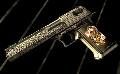 Desert Eagle: ручная гаубица для героя боевика
