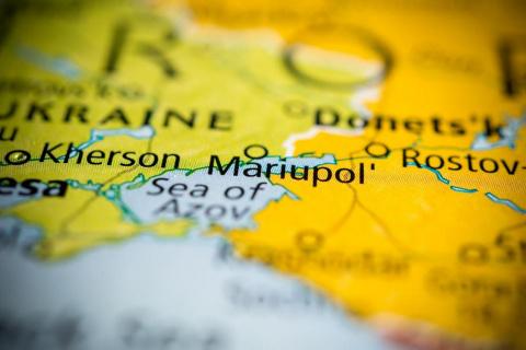 Стойкий город Мариуполь