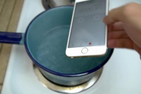 iPhone 6s и после купания в кипятке работает!