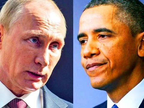 Путин против Обамы! Подведение итогов 2014 года!
