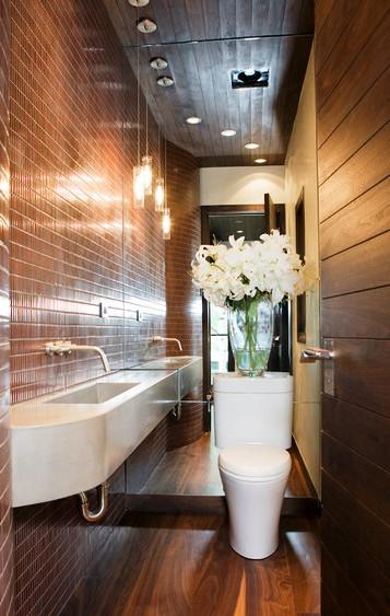 Как сделать маленькую ванную комнату лучше: 12 способов