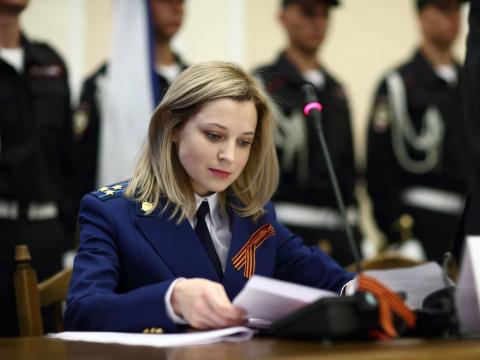 Наталья Поклонская рассказала, как стала прокурором Крыма