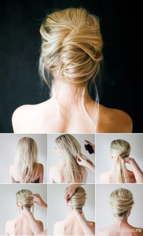 Прически на длинные волосы в…