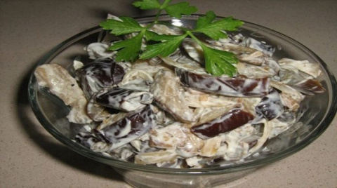 Очень вкусный салат из бакла…