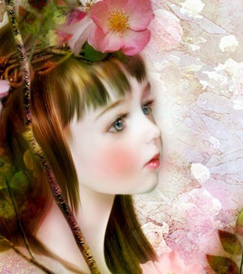 Волшебный мир детства японской художницы Yokota Miharu