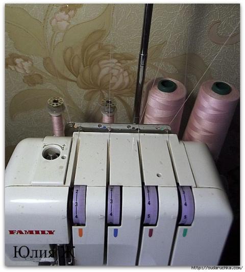 ШЬЁМ,ШЬЁМ, ШЬЁМ. Как сэкономить на швейных бобинах в оверлоке
