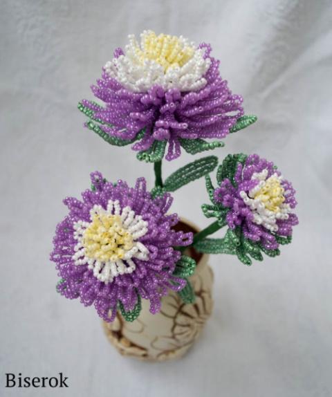 Мастер-класс плетения цветка…