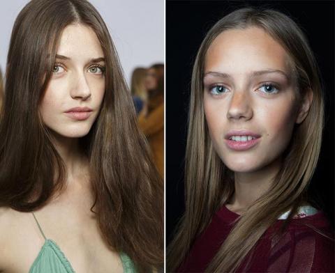 spring_summer_2015_hairstyle_trends_straight_sleek_hair