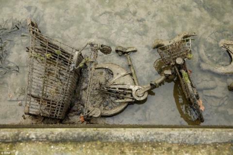 В Париже осушили один из кан…