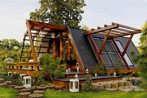 Загородный дом за пару часов — 3 экономных варианта на выбор