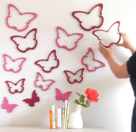 Идеи декора стен