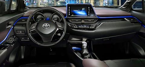 Toyota рассекретила салон се…