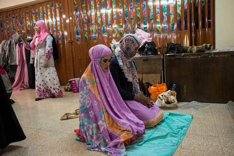 Конкурс красоты среди мусульманок