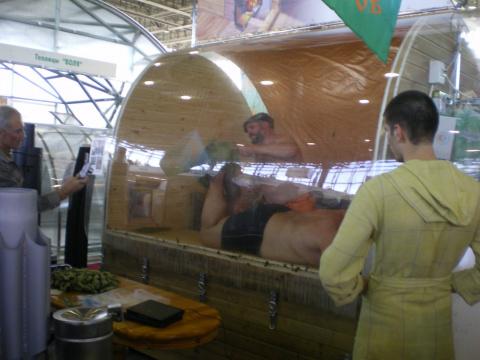 Один день глазами любителя Банный Остров на Дачной выставке. ВВЦ. 7-10 октября 2010
