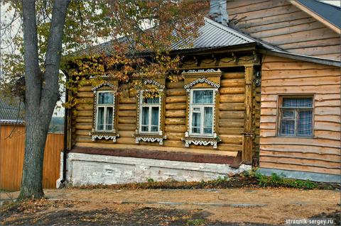 Удивительный уголок России золотой осенью