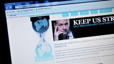 WikiLeaks опубликовала элект…