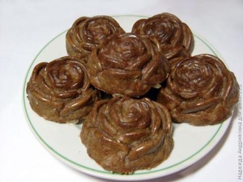 Кексы из куриной печени с начинкой