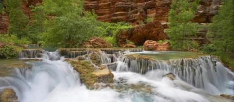 Водопады (21 фотография)