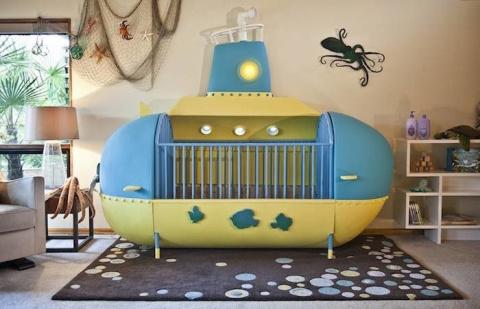 Креативная детская кроватка