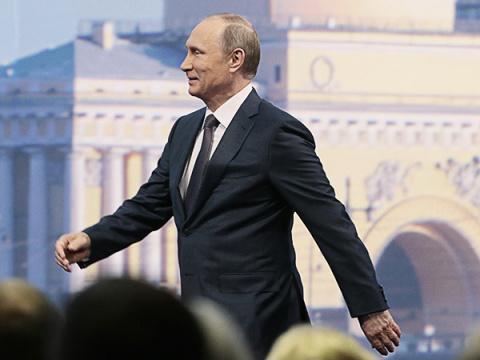 От Путина услышали про «догнать и обогнать», от Ципраса про «убиться»