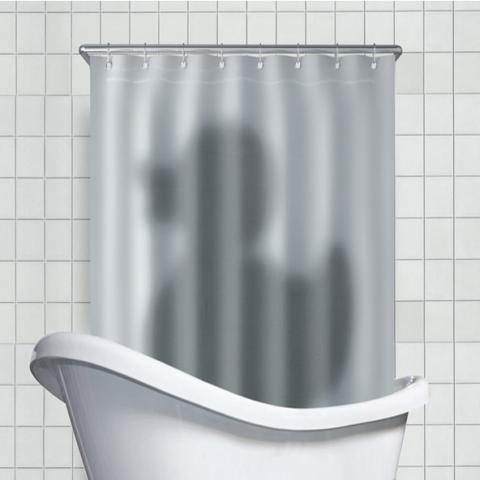 10 привычных занавесок с непривычным дизайном. Добавьте стиля в ванную комнату