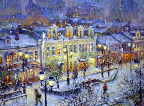 Удивительные и неповторимые уголки Москвы Александра Щепалина