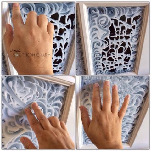 Превращаем обычное стекло в витраж с помощью всего одного средства