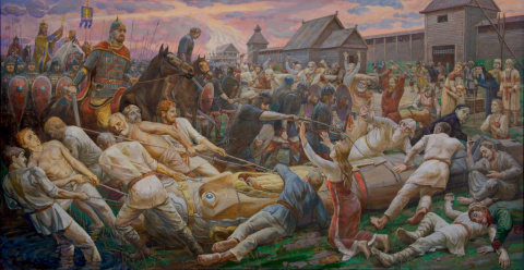 Как темный жрец крестил Русь и стал... вождем революции