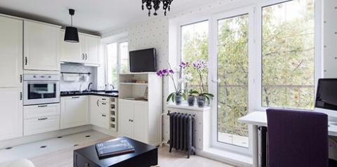 Гениальное преображение угловой однокомнатной квартиры в хрущевке
