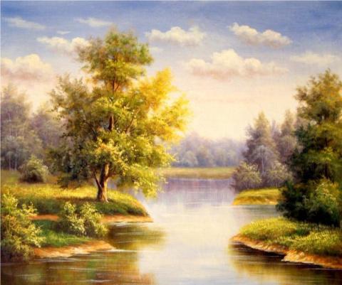 Солнечные пейзажи Руслана Смородинова