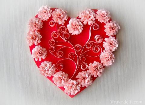Красивые валентинки своими руками!(идеи и мастер-классы)