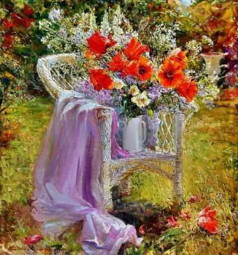 Цветы-букеты Марии Щербининой