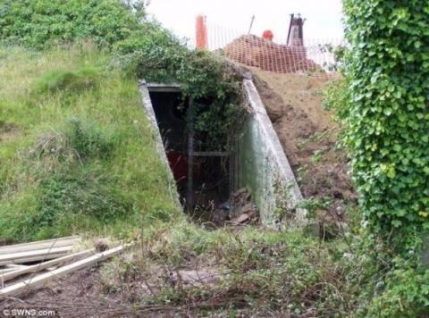 Девушка купила старый бункер…