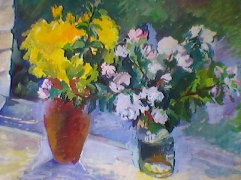 Мои работы - картины с цветами