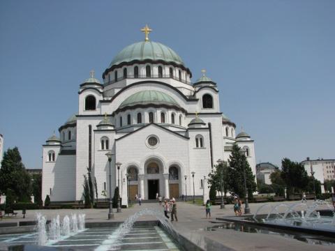 Собор святого Савввы. Белград.