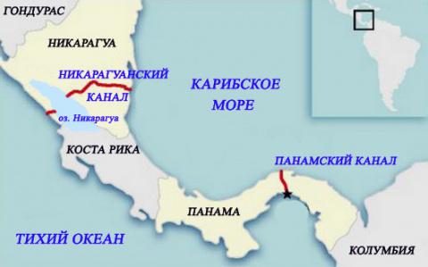 Никарагуанский канал, русские танки и шпионы США
