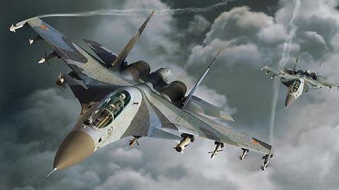 Новость дня! Российский Су-27 перехватывает натовский P-3 Orion над Балтикой!