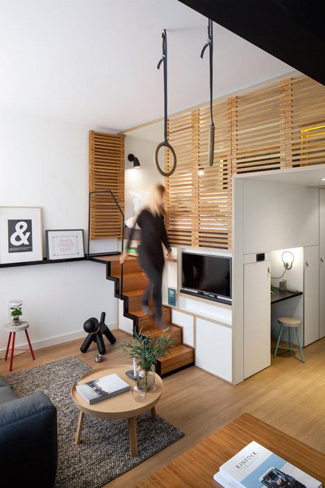 Выдвижной и раскладной спортзал в квартире