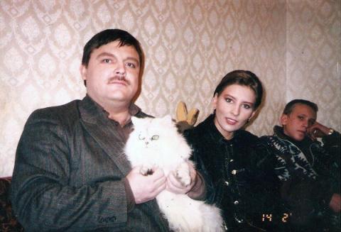 Михаил Круг на пленочных фотографиях.