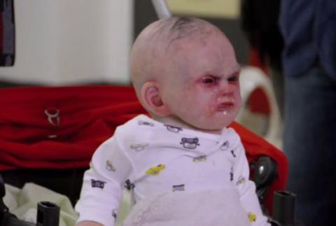 На улицы Нью-Йорка выпустили ребенка-дьявола