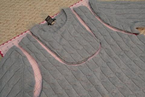 Это можно сделать из старого свитера!