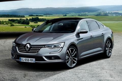 """Renault представила новый """"семейный"""" седан Talisman"""