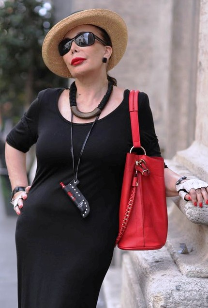"""Безупречно стильные образы женщин возраста """"плюс"""", умело сочетающие современную моду и винтаж"""