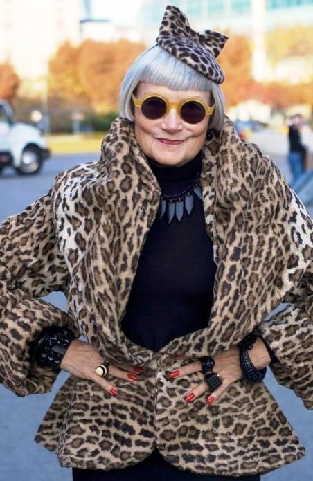 У моды нет возраста — стильные модницы в годах на улицах городов. Смотрим и заряжаемся позитивом!