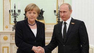 Меркель и Путин: «неприязненное взаимоуважение»