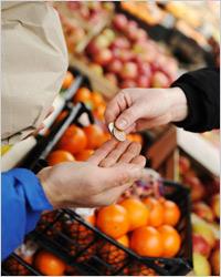 Самые дешевые продукты, поле…