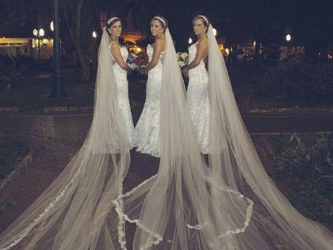 Свадьба сестер-тройняшек, ко…