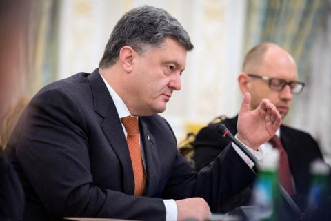 Порошенко: Украинское правительство чаще говорит по-английски, чем по-русски