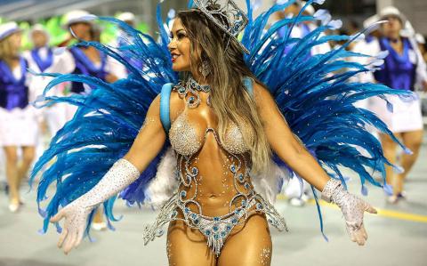 Самые яркие моменты Бразильского карнавала 2016