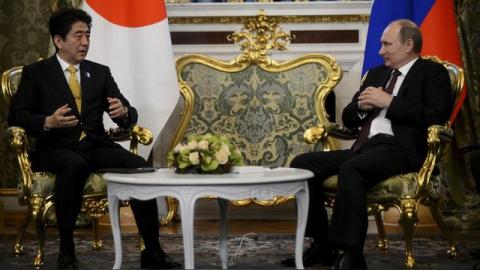 FT: Синдзо Абэ намерен верну…